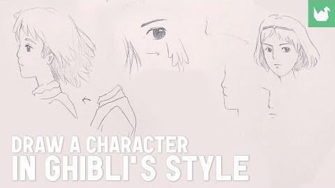 Draw in Hayao Miyazaki Style (Studio Ghibli)