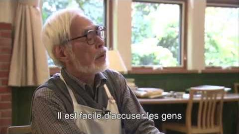 Deeper Hayao Miyazaki interview about The wind rises eng sub