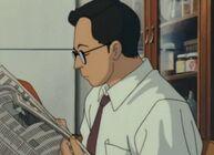 Ghibli-flüstern-takus-vater