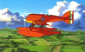 Porco-rosso-ferrari-flugzeug