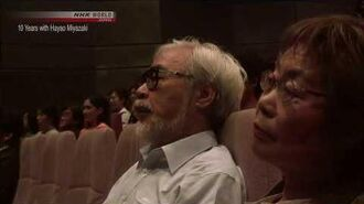 Hayao Miyazaki reacts to the first movie of his son Goro
