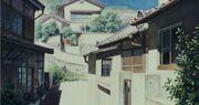 Ghibli-flüstern-takus-haus-aussen
