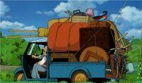 Totoro-kusakabes-auto