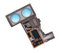 GhostSim Biome Backdoor Spaceship