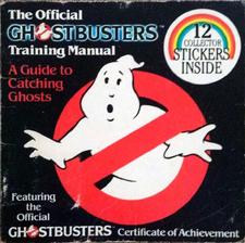 The OfficialGhostbustersTrainingManualStickerBookbyantiochSc01