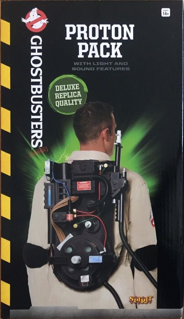 Spirit Halloween Proton Pack With Light And Sound