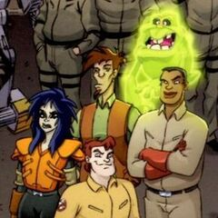 В Ghostbusters Crossing Over Issue #2