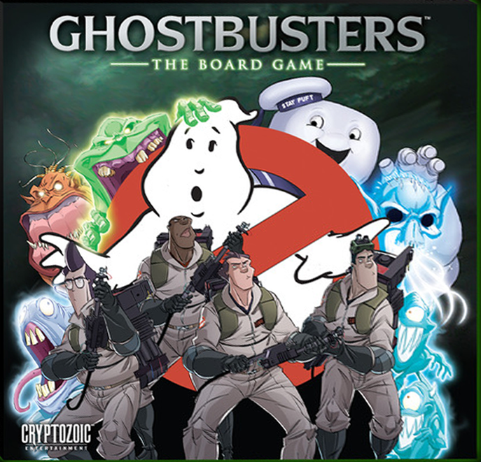 Ghostbusters Sandman Class 6 character card 2015 kickstarter board game toy