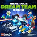 Lego Dimensions Dream Team Promo 5-4-2016