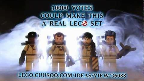 LEGO Ghostbusters Needs Your Support on CUUSOO