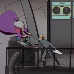 Игон пытается спасти Кирилиана