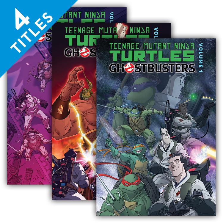 Teenage Mutant Ninja Turtles/Ghostbusters 4 Book Title