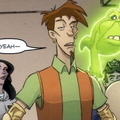 В Ghostbusters Crossing Over Issue #3