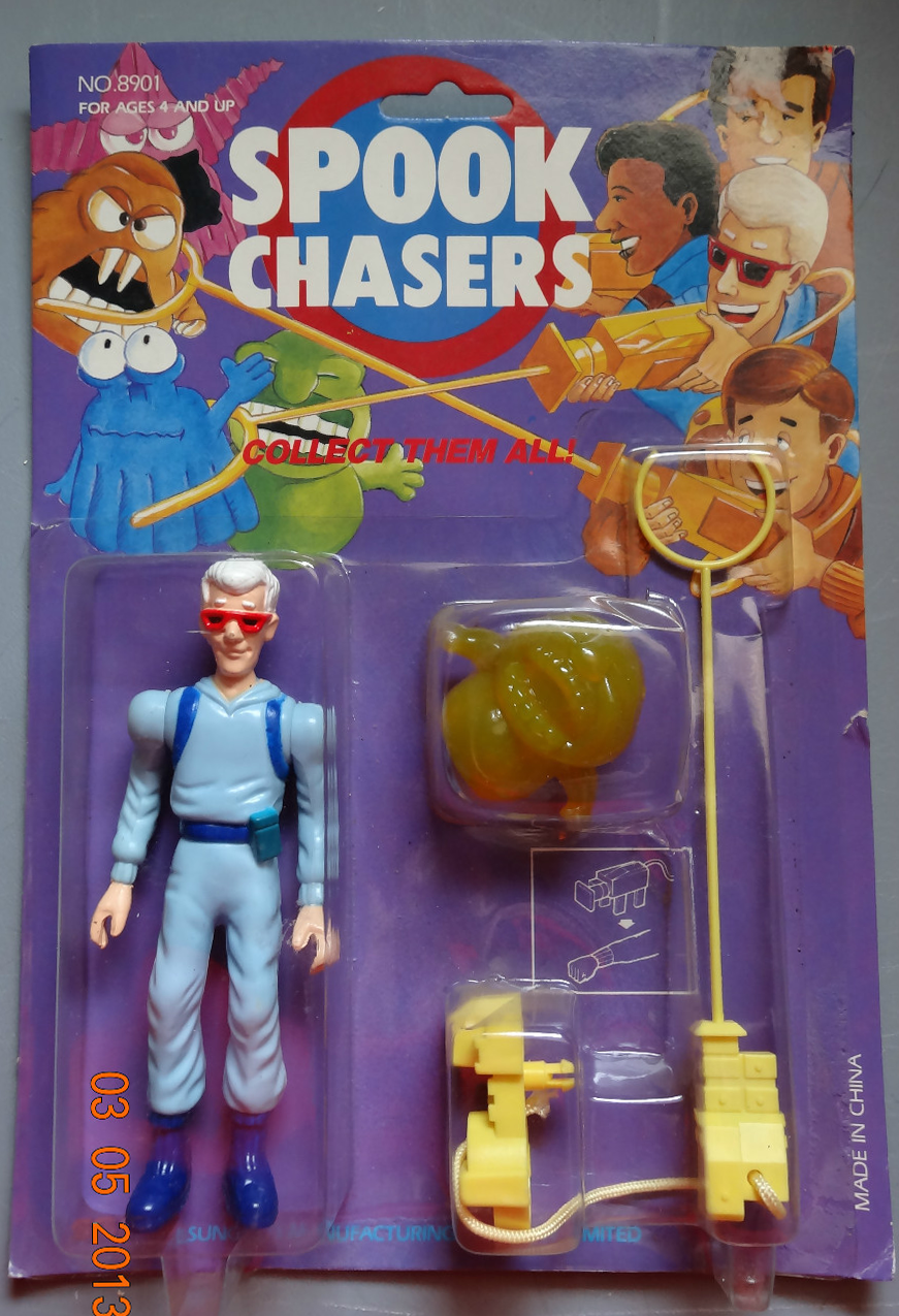 Sungold Spook Chasers Toy Line   Ghostbusters Wiki ...  Spook