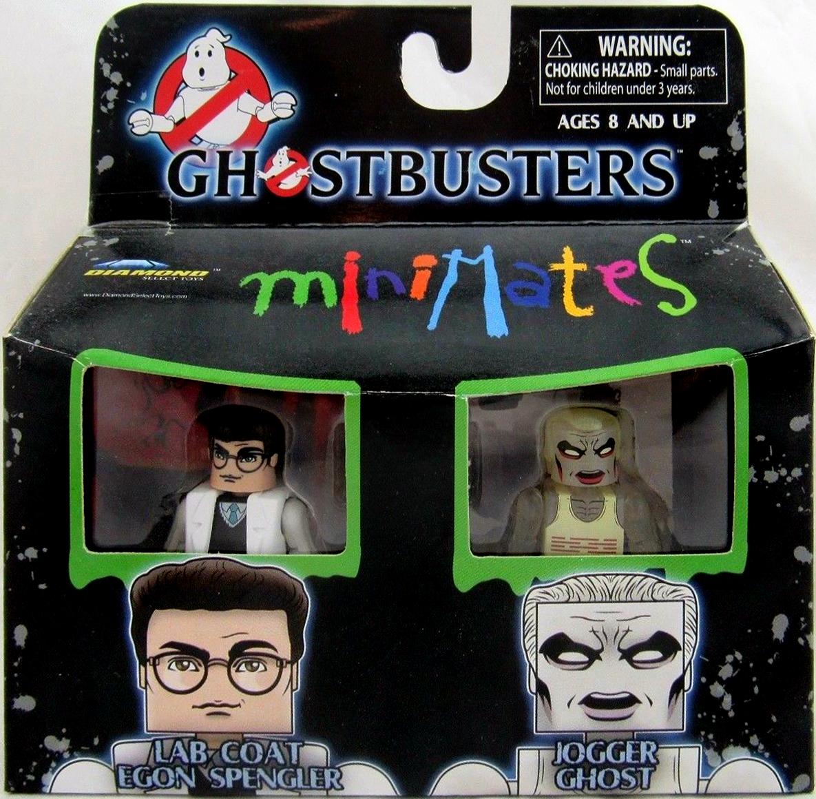 Ghostbusters Minimates TRU Wave 4 GB2 Slime Blower Ray
