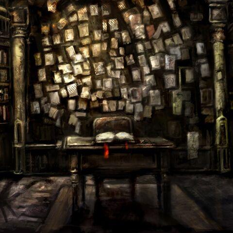 Комната, в которой Охотники нашли скелет Э.Твитти