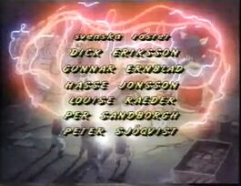 Real Ghostbusters credits Swedish 3