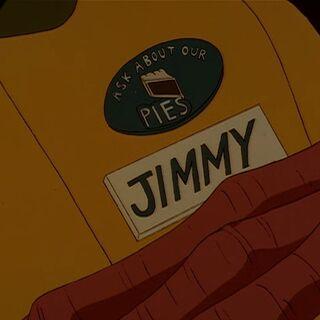Нашивка на одежде Джимми
