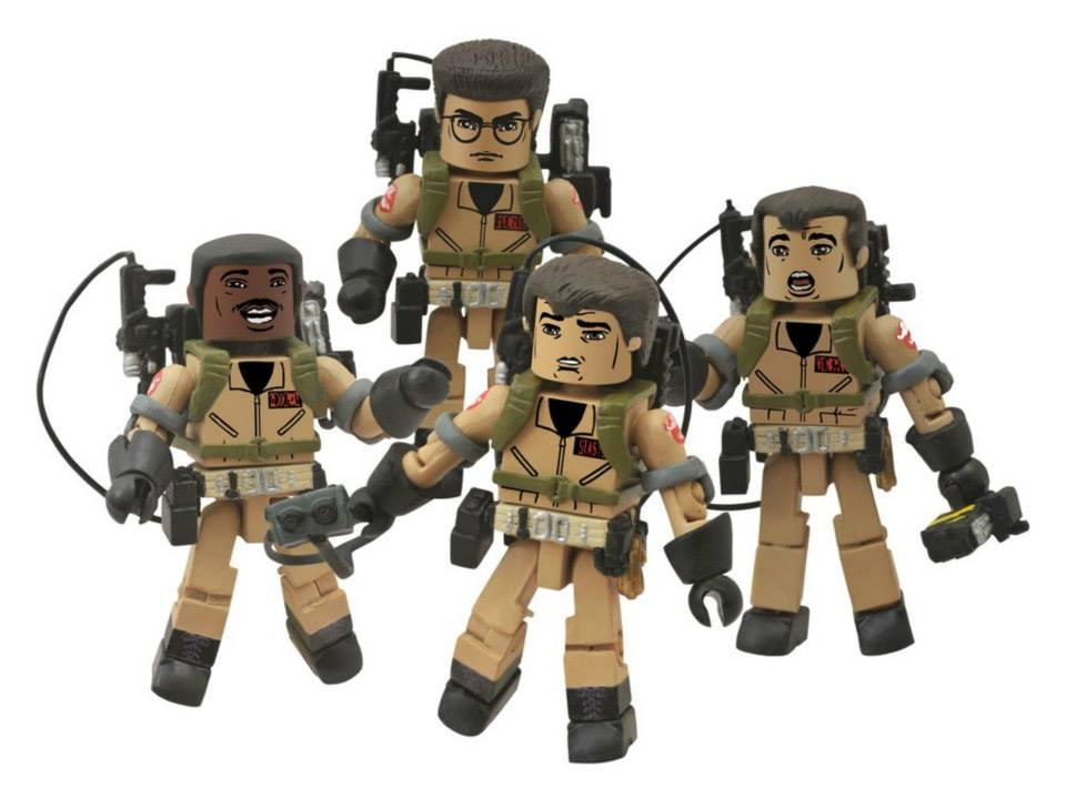"""Ghostbusters Minimates /""""I Love This Town/"""" Winston Zeddemore"""