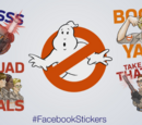 Ghostbusters Facebook Stickers
