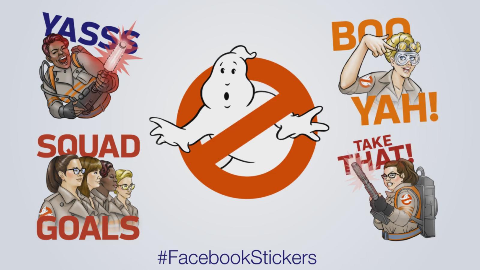 ghostbusters facebook stickers ghostbusters wiki fandom powered