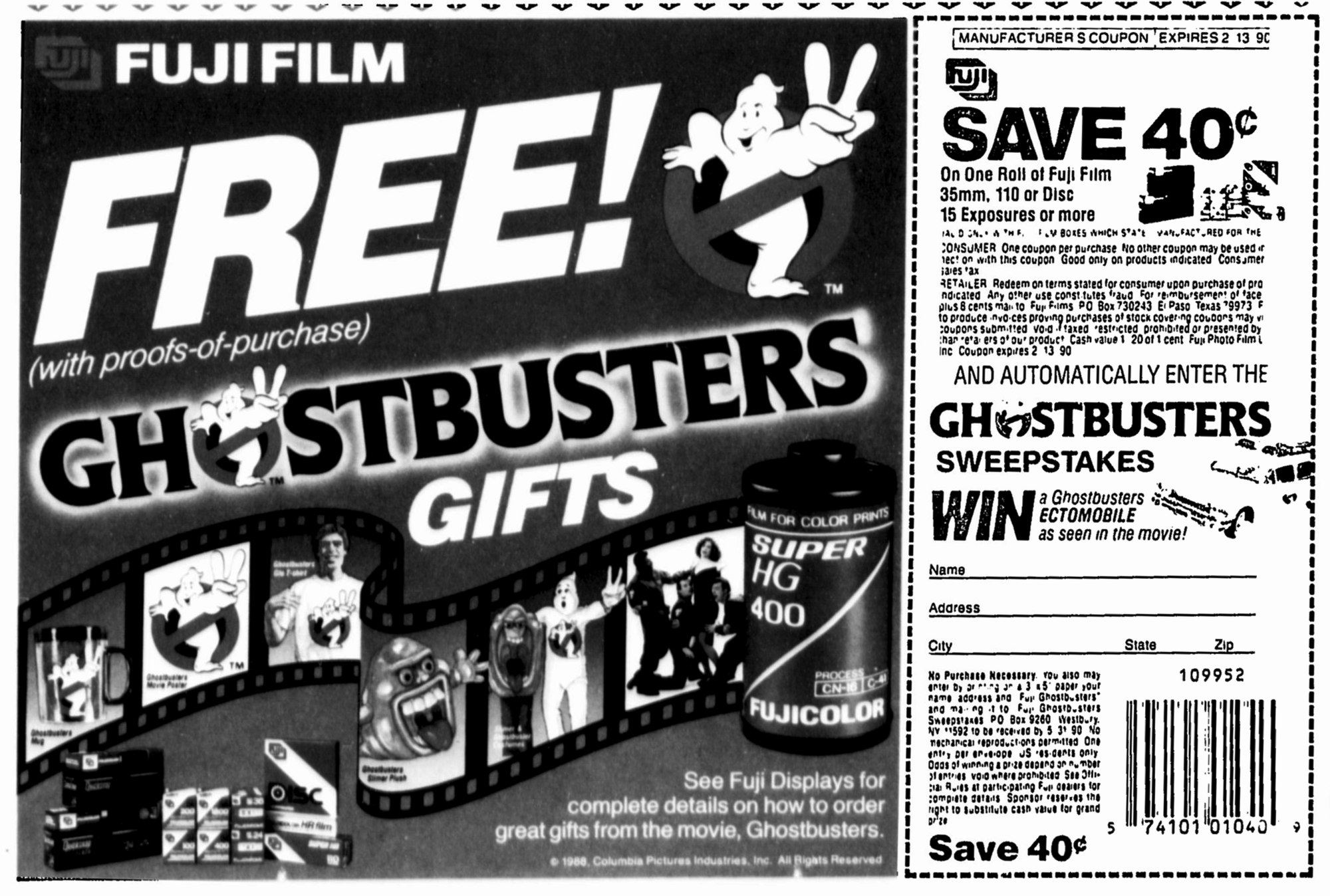 Film's PromotionWiki Fandom Fuji Ii Ghostbusters xoBerdC