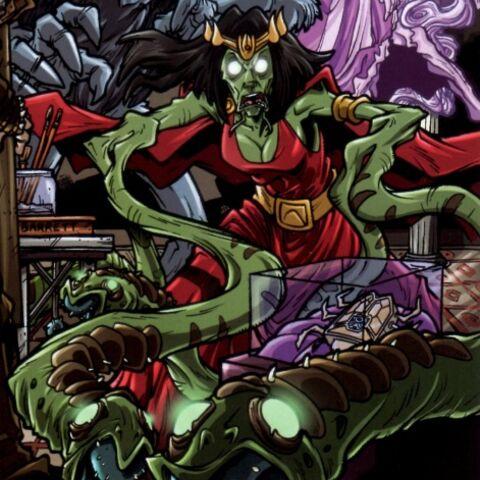 Акира на обложке B комикса Ghostbusters: Crossing Over Issue 4. Изображение взято с <a  class=