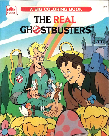 The Real Ghostbusters: A Big Coloring Book | Ghostbusters ...