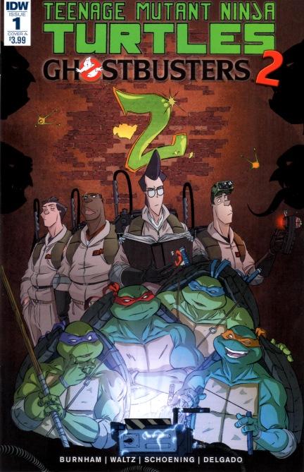 Teenage Mutant Ninja Turtles Dimension X #2 Cover A Regular IDW- 2017