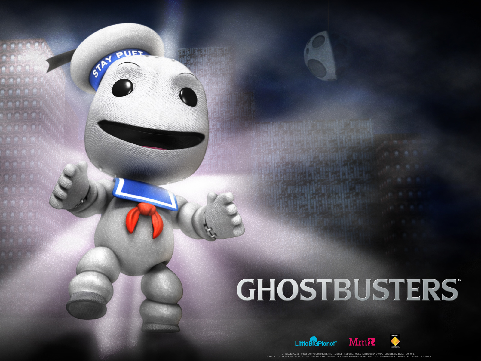 image - little big planet stay puft wallpaper 1600x1200 (43)
