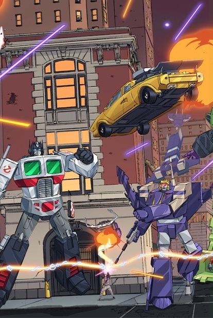TRANSFORMERS GHOSTBUSTERS #1 OF 5 6//26//19