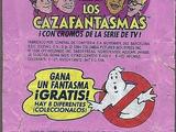 Los Cazafantasmas chicle bubble gum by General De Confiteria S.A.