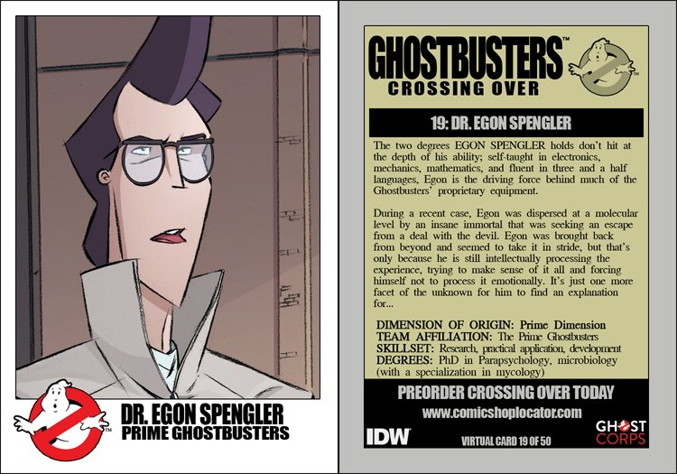 GHOSTBUSTERS 35TH ANNIVERSARY GHOSTBUSTERS 4//3//19