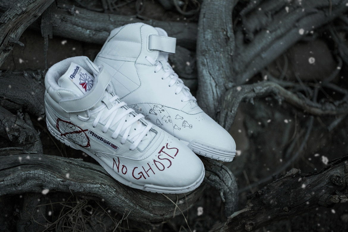BAIT x Stranger Things x Ghostbusters x Reebok Ex-O-Fit Clean Sneakers  e89464d50