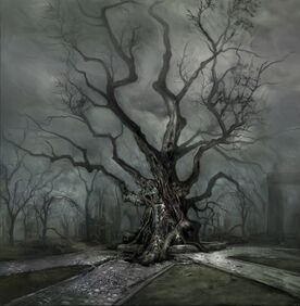 The Concept-Art of Cemetery012-A Cemetery Tree