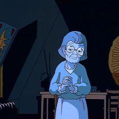 Приняла форму прабабушки Кайли, чтобы захватить ее