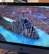 New York City CGI overview model 2