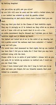 Frank Agglin, letter 2