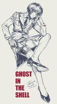 Ghost-in-the-Shell SAC-2045 Illustration Hiroshi-Ueda (上田宏) 2