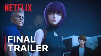 Ghost in the Shell SAC 2045 Final Trailer Netflix
