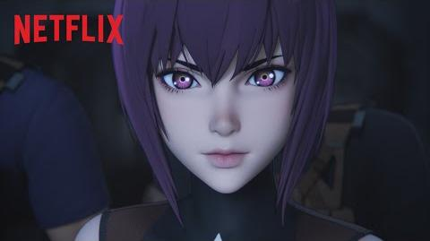 Ghost in the Shell SAC 2045 Official Trailer Netflix