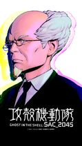 Ghost-in-the-Shell SAC-2045 Wallpaper Daisuke-Aramaki