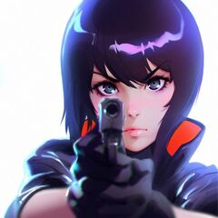 Motoko design by Ilya Kuvshinov in <a href=