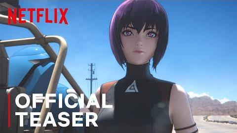 Ghost In The Shell SAC 2045 Teaser Netflix