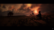 Samurai field training