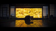 Jin Sakai Bows in Dojo