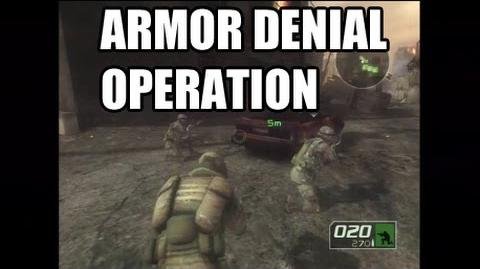 Ghost Recon 2 Campaign - Armor Denial Operation