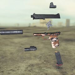 Ghost recon Future Soldier FN FNP45 8