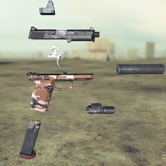 Ghost recon Future Soldier FN FNP45 7