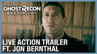 Tom Clancy's Ghost Recon Breakpoint The Pledge Ft. Jon Bernthal Live Action Trailer Ubisoft NA